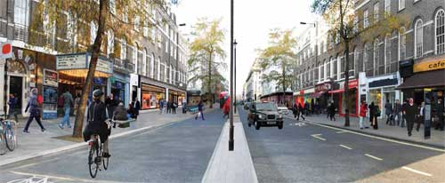 An artist's impression of Baker Street