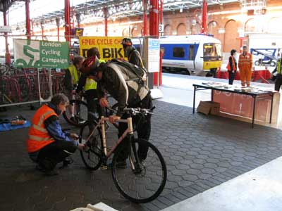 Dr Bike at Marylebone